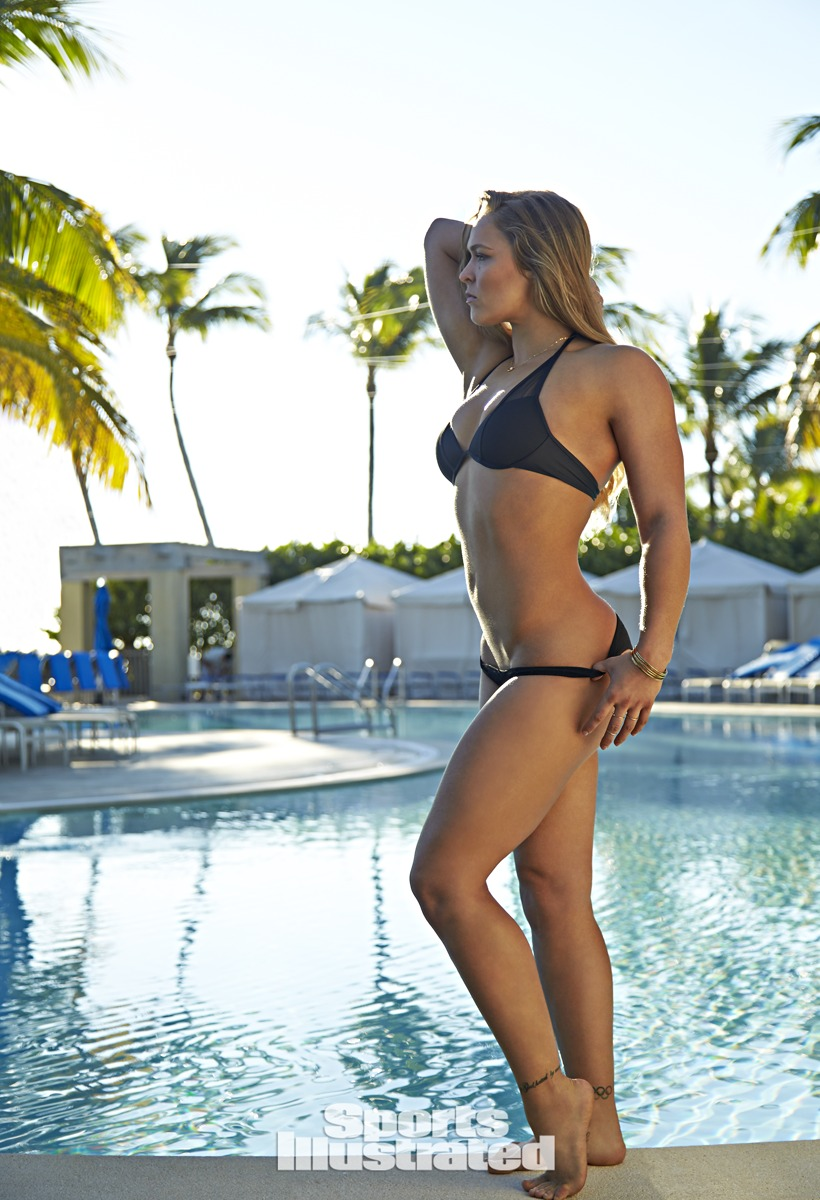 Ronda Rousey Graces The Pages Of The 2015 Sports Illustrated Swimsuit Issue