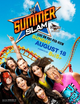 Official Summerslam 2013 Poster Reveal - fightbooth