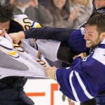 Leafs-Sabres brawl ends with goalies trading blows