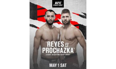 UFC Vegas 25: Dominick Reyes vs Jiri Prochazka Preview
