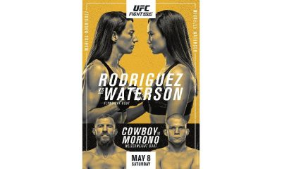 UFC Vegas 26: Marina Rodriguez vs Michelle Waterson Preview